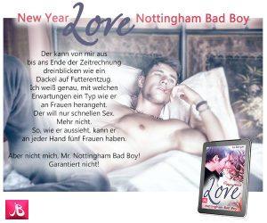Bestseller New year love Nottingham Bad Boy Jo Berger