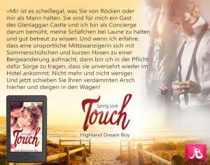 Romane Schottland Liebesroman Spring Love Touch