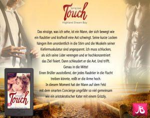 Bestseller Higlander Roman Spring love Touch jo berger